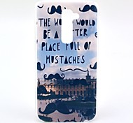Mustaches Famous Building Pattern Hard Case for HTC G2/D801 Magic