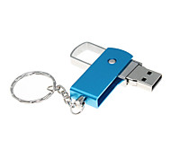 Rotating USB2.0 Flash Drive 2GB(Assorted Color)