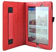 oso litchi ™ patrón estilo tímido delgado inteligente caso de la cubierta del soporte del cuero de la PU para HP Slate tableta de 7 3g