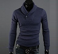 Men's Casual/DailySolid Long Sleeve Others
