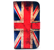 Retro UK National Flag Pattern PU Leather Full Body Case with Card Slot for Samsung Galaxy S5 I9600