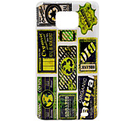 Environmental Protection Label Pattern Hard Case for Samsung Galaxy S2 I9100