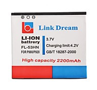 Link Dream 3.7V  2200mAh    Cell Phone  Battery for LG P990/P993/P999/P920/M735  (FL-53HN)