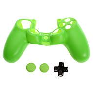 PS4 Protective Silicone Skin + D-pad + Nonslip Silicone cap Set