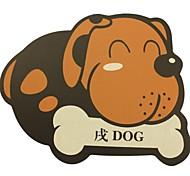 Qianjiatian® Zodiac Durable Mouse Pad Dog