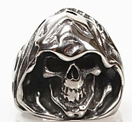 Z&X®  Men's Wizard Skulls Titanium Steel Ring