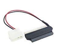 44pin para 40pin ide adaptador de disco rígido de 3.5 polegadas desktop com conector de alimentação 5v dc