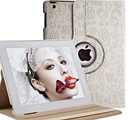 ikodoo® 360 Degree Rotating Case Cover with Stand for ipad2 the New ipad3 ipad4