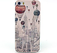 Mongolfiera nel cielo di New York City del modello Hard Case per iPhone 5/5S