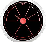 nc0927 Radioactive Neon Sign LED Wall Clock
