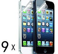 [9-Pack] High Quality Matte Anti-Glare Screen Protectors for iPhone 5/5S