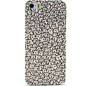 Un sacco di Hard Case Cats Pattern for iPhone 5/5S