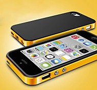 Simple Design TPU and PC Case  for iPhone 5/5S (Assorted Colors)