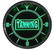 Bräunungssonnenbaden Display Leuchtreklame LED-Wand Uhr