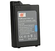 batería 2100mah 3.6v DSTE psp-110 para Sony psp1000