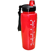 HYDRAKNIGHT 750ML PP Red Cycling Water Bottle