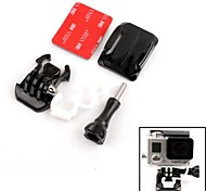 Riding Skydiving Helmet Curve Surface Set For Gopro Hero 2/3/3+ and SJ4000
