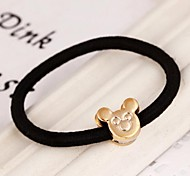 Mouse Metal Elastic Hair Ties
