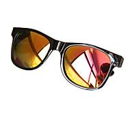 Coway filme colorido brilhante reflexivos Sunglasses (cores sortidas)