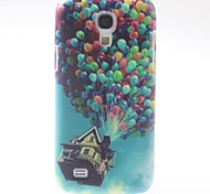Colorful Balloons Pattern PC Hard Case with Black Frame for Samsung Galaxy S4 mini I9190