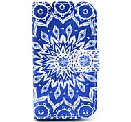 Retro Sunflower Design PU Leather Full Body Case with Stand for Samsung Galaxy S3 Mini I8190
