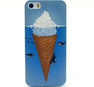 Icecream Dolphin Pattern Hard Case for iPhone 5/5S