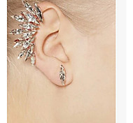 Ear Cuffs Alloy Rhinestone Simulated Diamond Jewelry Party Daily Casual