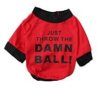T-shirt - di Cotone - Rosso