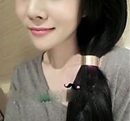Fashion accessories  metal quality cylinder headband high quality hair accessory