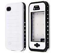 altavoz metálico impermeable redpepper diseñar caso suave para el iphone 4 / 4s (colores surtidos)