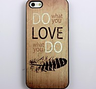 Do What You Love Design Aluminum Hard Case for iPhone 4/4S