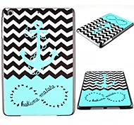 The Waves Ships Anchor Pattern PC Hard Case for iPad mini/ mini 2