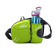 Waist Bag/Waistpack Camping & Hiking / Fitness / Beach / Traveling / Cycling/Bike Quick Dry / Water Bottle Pocket / Dust Proof / Wearable