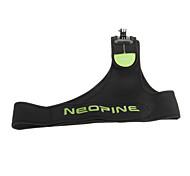 Neoprene Camera Single Shoulder Strap(Black with Fluorescent Green)