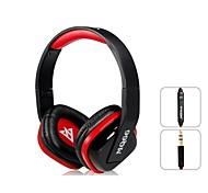 OVLENG A1 Superb 3.5 mm Auriculares En-oído con micrófono y 1,2 m de cable (Negro y Rojo)