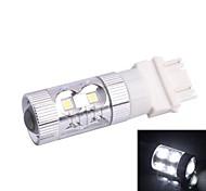 3157/3156 de 60 W 12x LED LED SMD 650LM 6500K Luz Blanca de dirección de coches luz de freno (DC12-24V)
