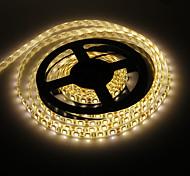 Impermeabilice los 5M 72W 300x5050SMD luz blanca cálida Lámpara LED Strip (12V DC)