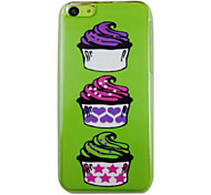The Beautiful Ice Cream Pattern PC Back Case for iPhone 5C