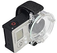 Gopro Lens Aerial Protector Cap Strap Cover Clear for Gopro Hero 1/2/3 Camera
