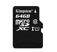 Kingston 64GB Clase 10 MicroSD/MicroSDHC/MicroSDXC/TFMax Read Speed25 (MB/S)Max Write Speed15 (MB/S)