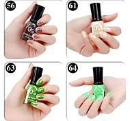 4 cores verde Cor Doce Nail Polish (16ml, cores sortidas)