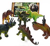 Acção modelo 6 pack dinossauro terno figuras brinquedos