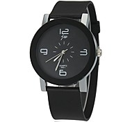 Women's Simple Dial Silicone Band Quartz Wrist Watch (Assorted Colors) Cool Watches Unique Watches Fashion Watch