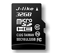 32GB J-like Class 10 MicroSDHC TF Memory Card