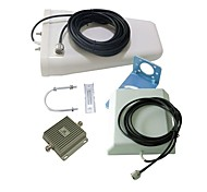 Dual Band 850MHz Cell Phone Signal Booster Repeater +3G 2100MHz WCDMA Amplifier