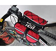 ACACIA 4-in-1 600D High Density Woven Fabric Red Muti-functional Bike Frame Bag