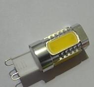5W G9 Bombillas LED de Mazorca T 5 COB 220 lm Blanco Cálido Decorativa AC 85-265 V 1 pieza