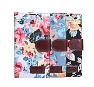 PU Leather Flower Pattern Case for Sony Xperia T3