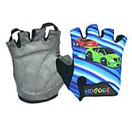 Glove Cycling / Bike Men's Fingerless Gloves Anti-skidding Summer Blue M - BOODUN