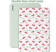 iSecret Sweet Series Cherry Double Face PU Leather Full Body Smart Case with Auto Awaken and Stand  for iPad Air